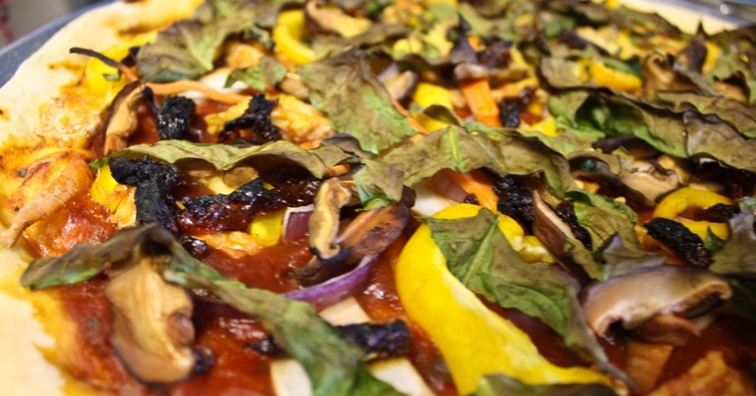 Vegan pizza   © avry / Flickr