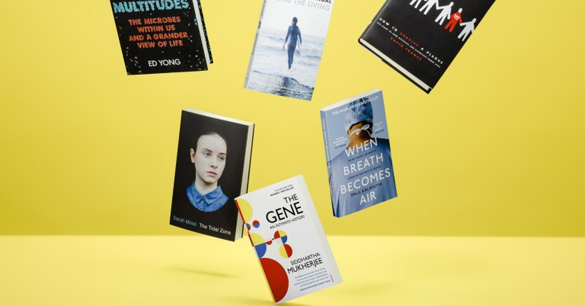 The Wellcome Book Prize Shortlisted works | Courtesy of Midas PR