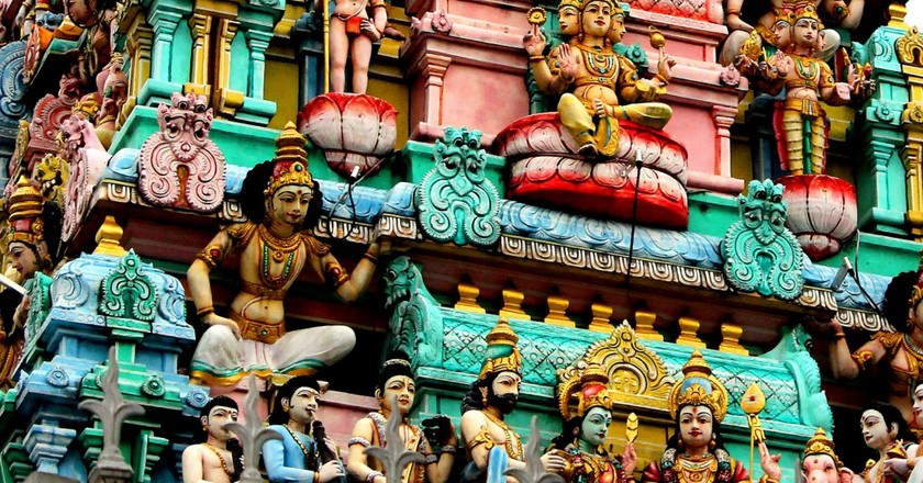Hindu Temple in Singapore |© Les Haines/Flickr