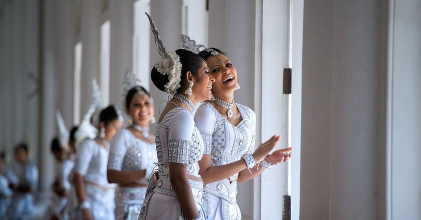 "<a href=""https://www.flickr.com/photos/9364837@N06/16720359423"" target=""_blank"" rel=""noopener noreferrer"">Traditional Sri Lankan dancers 