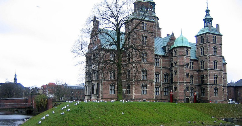 Rear of Rosenborg Castle |© Bluedog423 / Wikimedia Commons
