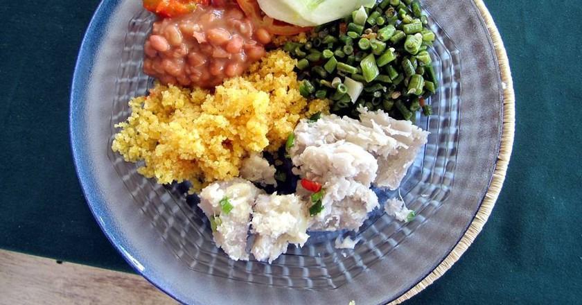 A tasty vegetarian meal | © David Stanley / Flickr