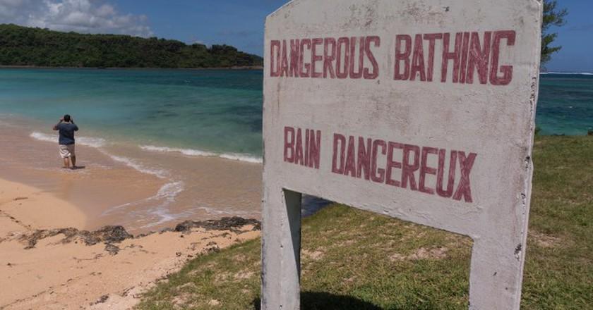 Dangerous Bathing|© Sebastian Kippe/FlickR