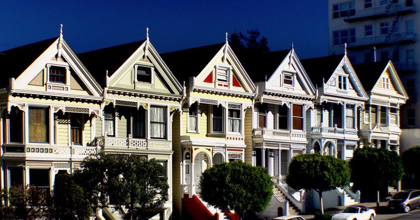 Painted ladies.San Francisco | © Bernard Spragg. NZ / Flickr
