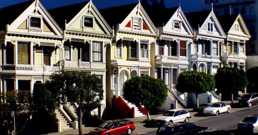 Painted ladies.San Francisco | © Bernard Spragg. NZ / Flickr