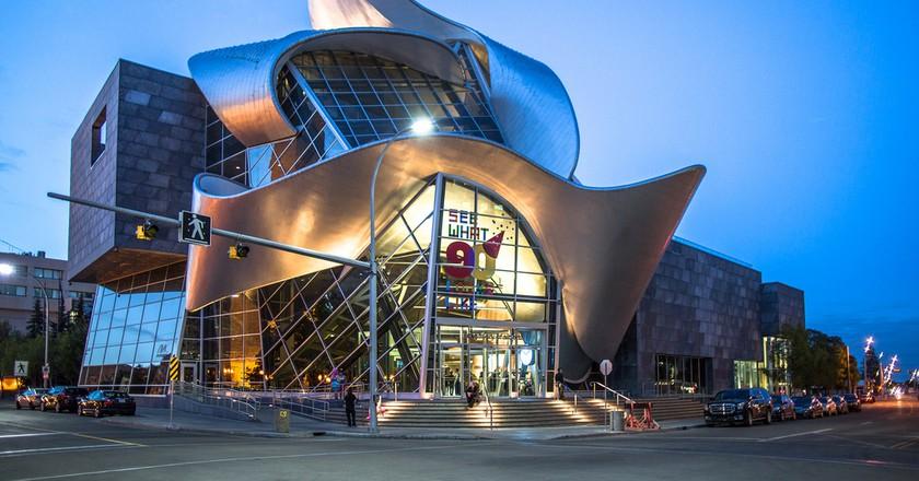 Art Gallery of Alberta's quirky exterior | © IQRemix / Flickr