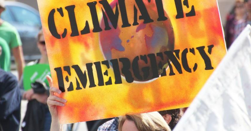 Climate change protest | © Takver/Flickr