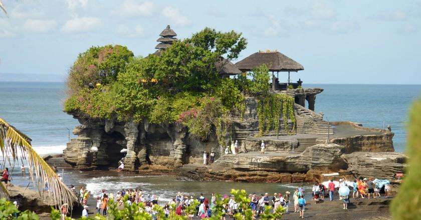 Tanah Lot Sea Temple in Bali | © Megan Coughlin / Flickr