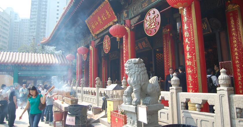 Wong Tai Sin Temple in Hong Kong | © Edwin Lee/Flickr