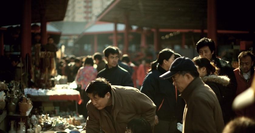 At a Beijing flea market   © Lyle Vincent/Flickr