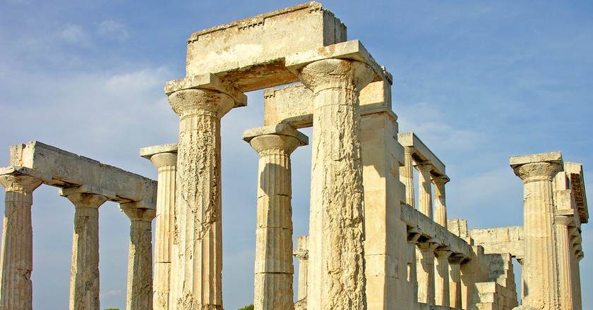 Temple of Aphaia, Aegina, Greece | © Dennis Jarvis / Flickr