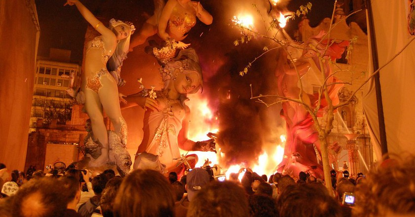 How Valencia's Las Fallas Festival Became Spain's Loudest Fiesta