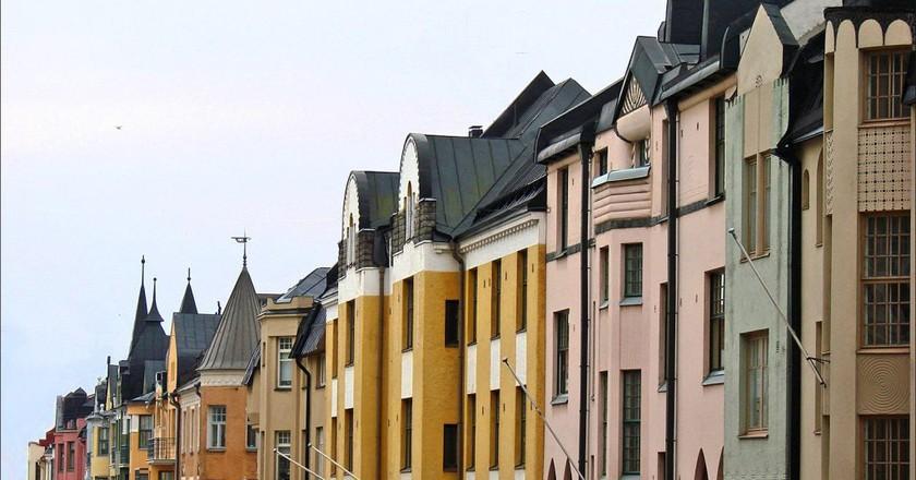 Huvilakatu Street, Helsinkik | © Jean-Pierre Dalbéra/Flickr