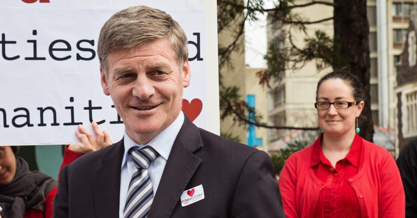 New Zealand's Prime Minister Bill English   © New Zealand Tertiary Education Union/Flickr