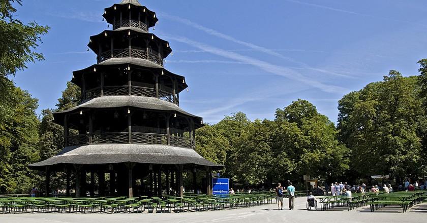 The Chinesischer Turm | © digital cat / Flickr
