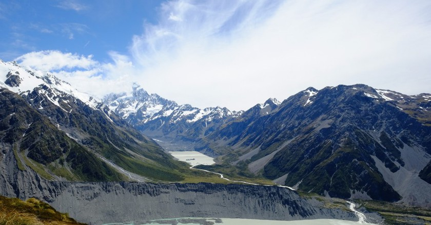 A Brief History of New Zealand's South Island