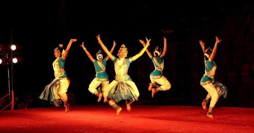 Dance festival in Mahabalipuram | © Simply CVR / Flickr
