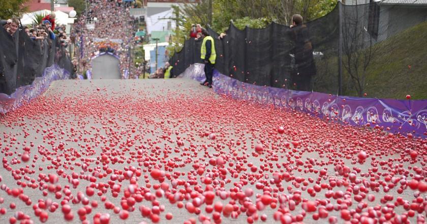 Baldwin Street Jaffa Race | © Dunedin NZ/Flickr