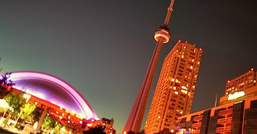 Toronto lit up for Lumintato | © Bahman / Flickr