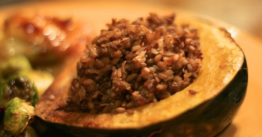 Stuffed Acorn Squash | © Alexis Lamster / Flickr
