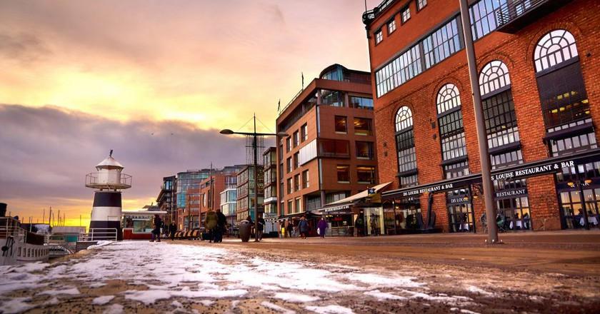 Restaurants at Aker Brygge © Moyan Brenn / Flickr