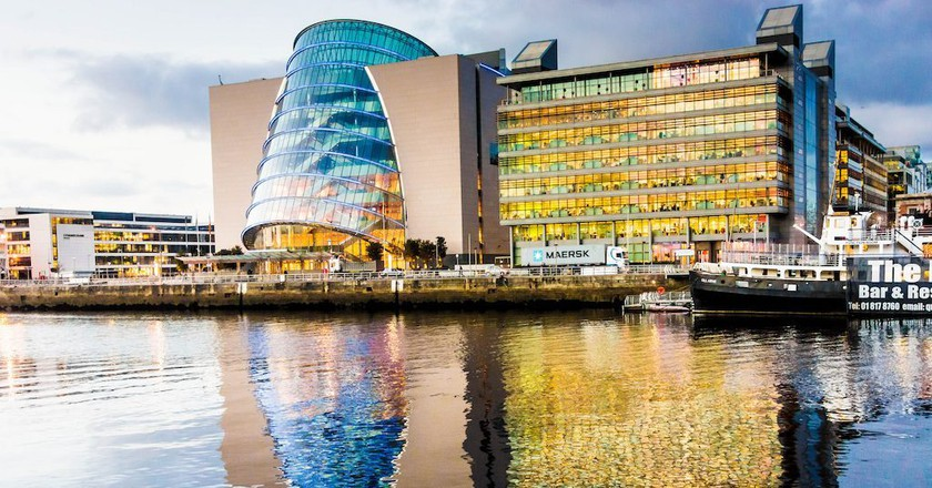 The Convention Centre Dublin (CCD) in the Dublin Docklands   © William Murphy/Flickr