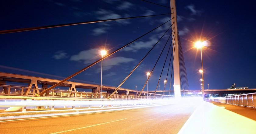 Highways near Nishi Kasai and the Arakawa River   © Manish Prabhune/Flickr