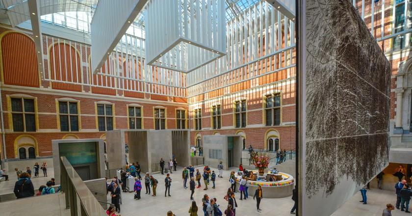 Inside the Rijksmuseum   © pixabay