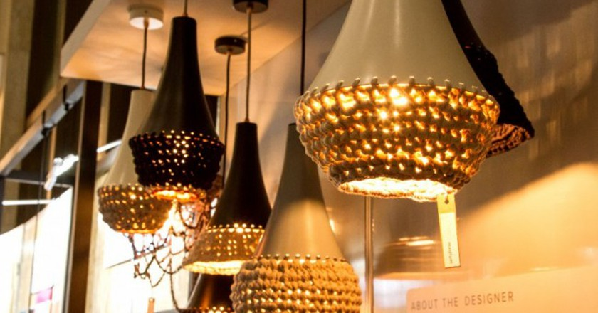 Echru pendant lights from Cape Town designer, Ashlee Ainsley Lloyd | © Courtesy of Ashlee Ainsley Lloyd