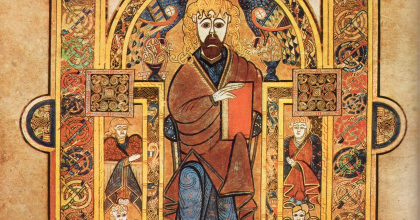 From the Book of Kells, a 9th century New Testament currently kept at the Trinity College Library in Dublin | WikiCommons