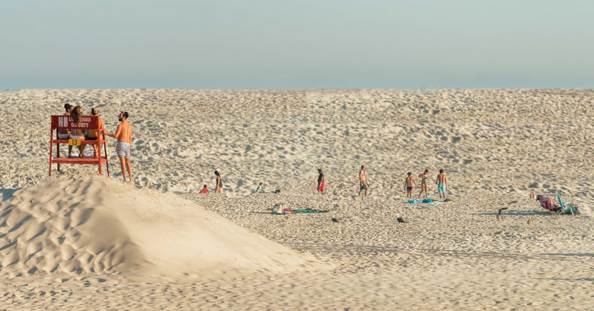Climate Change Drowns the Beach Vacation
