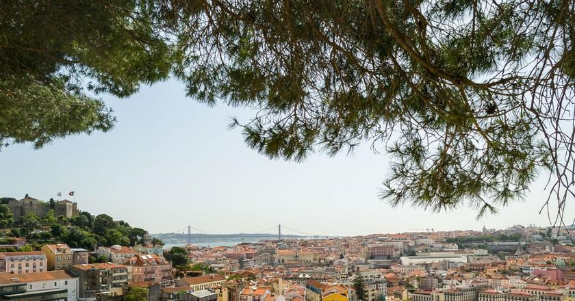 Belvedere, Lisbon | © nathsegato / Pixabay