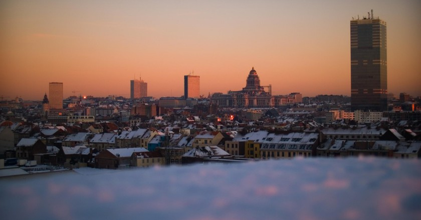 Brussels, as seen from one of the Erasmushogeschool's campus roofs | © Erasmushogeschool Brussels / Flickr