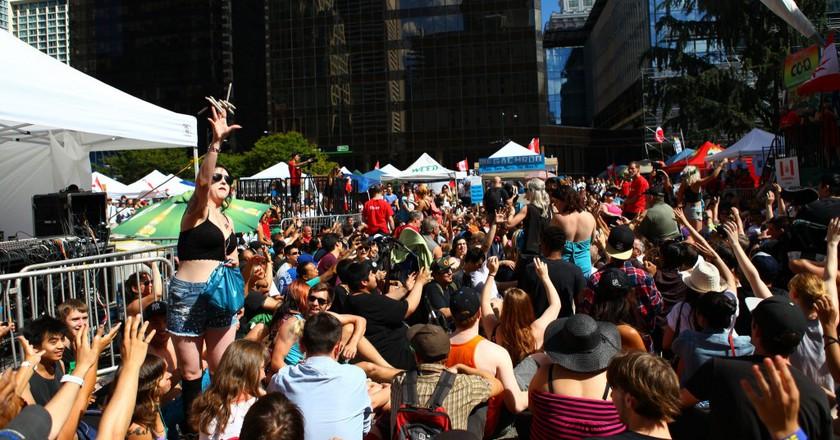 Canada Cannabis Day, Marijuana Street Party 2014   © GoToVan / Flickr
