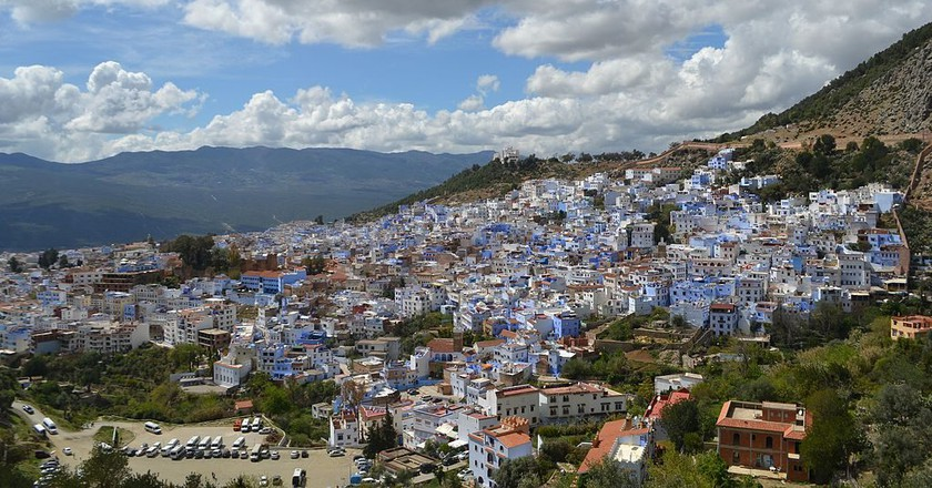 Chefchaouen, the blue city in the Rif Mountains | © Wikimedia Commons