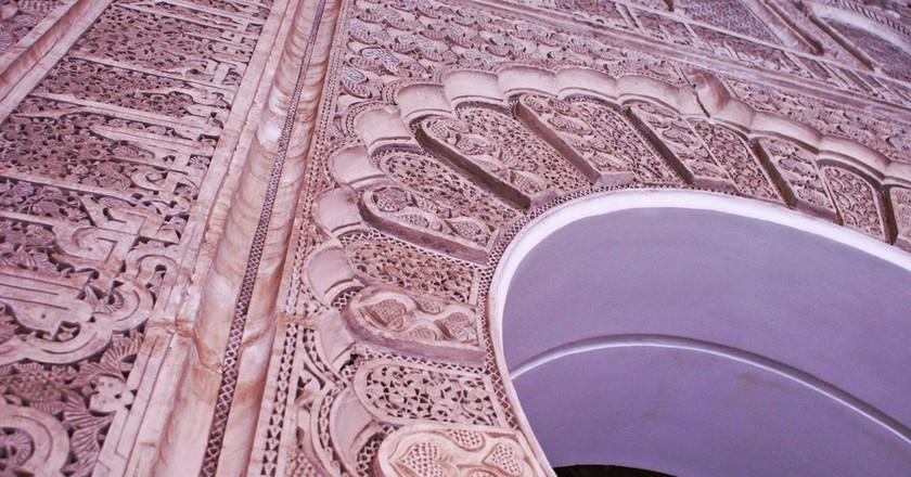 Details at Ben Youssef Madrasa in Marrakesh | © Louisa Thomson / Flickr