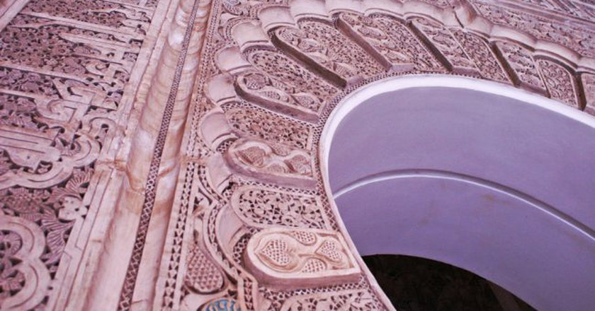 Details at Ben Youssef Madrasa in Marrakesh | © Louisa Thomson / Flickr