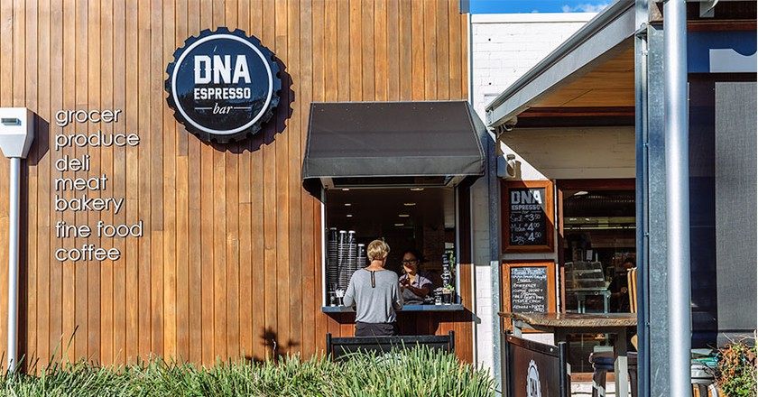 DNA Espresso Bar | © Hawthorn Garage