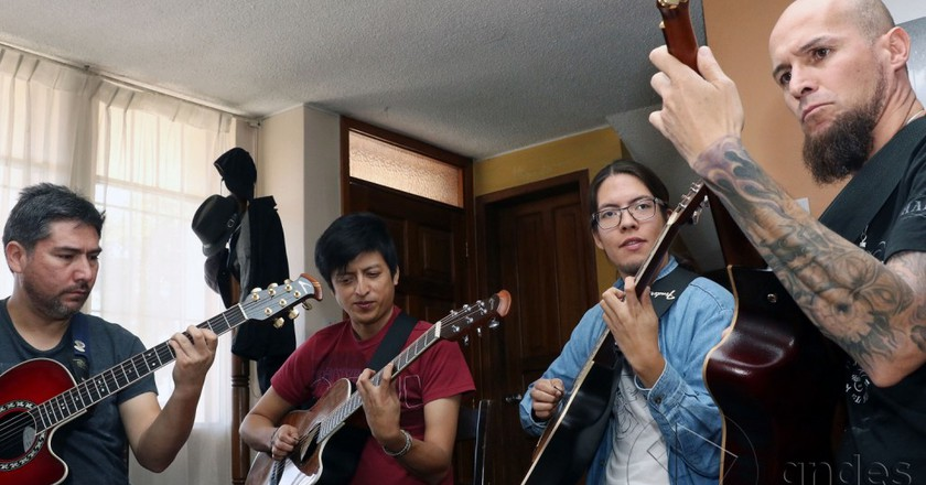 Ecuadorian Musicians@flickr.com
