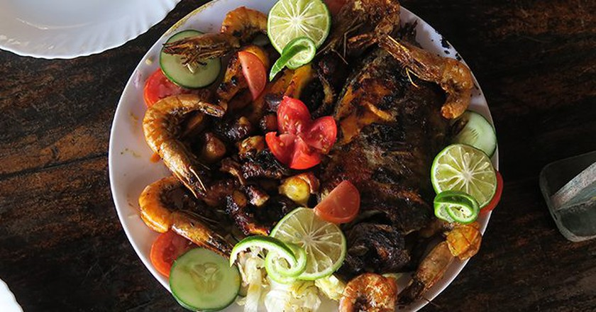 Seafood Platter | © Jean Wandimi/ Authors own