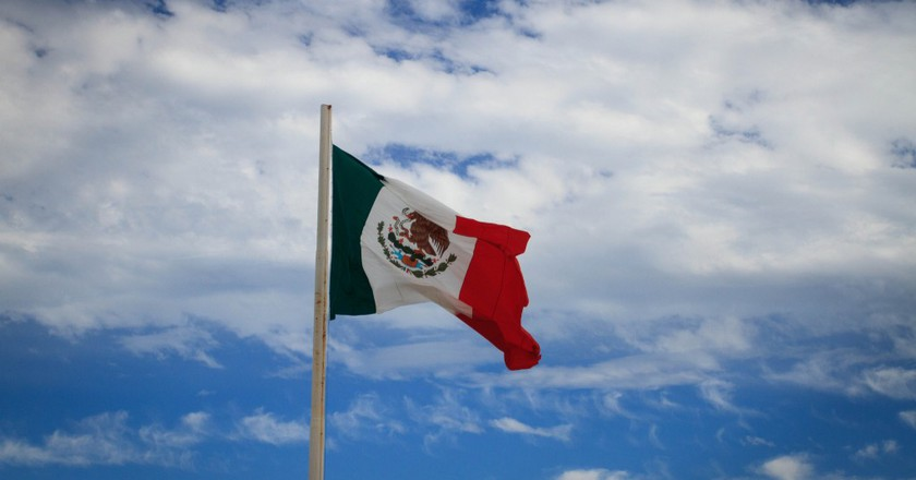 The flag of Mexico | © Gary J. Wood / Flickr