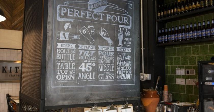 A selection of brews at Blue Moon Bar I Courtesy of Blue Moon Bar