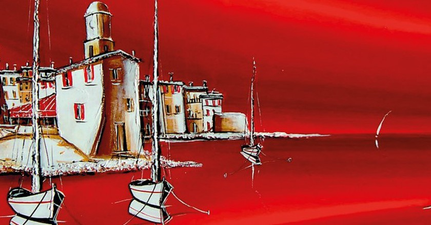 St Tropez is home to many great contemporary artists | © Marc B Denoun