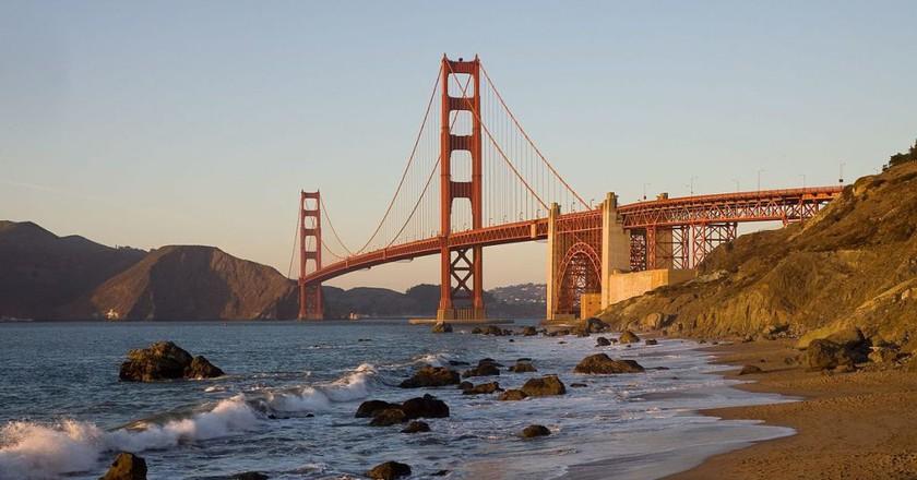Golden Gate Bridge |© Wikpedia Commons Christian Mehlführer