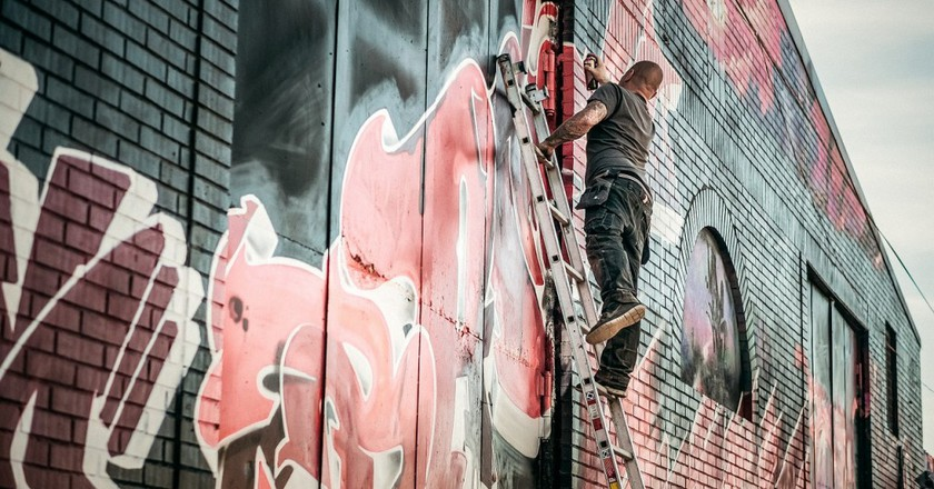 Graffiti Artist © Pixabay