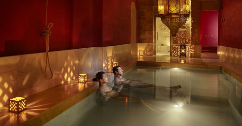 Relax at a traditional Moroccan steam bath | Courtesy of Palma Hammam