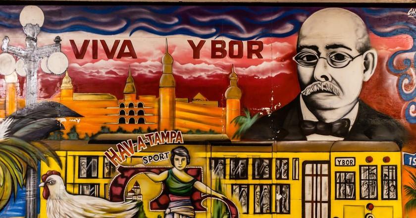 Ybor Mural   © Holmes Palacios Jr/Flickr