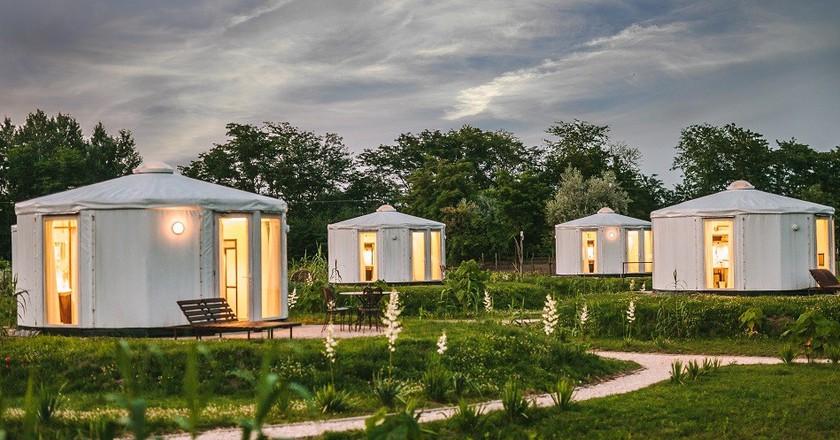 Homoki Yurts | Courtesy of Homoki Lodge