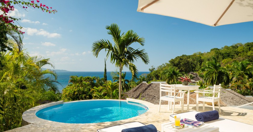 Villa Suite with Private Plunge Pool | Courtesy of Round Hill Hotel and Villas
