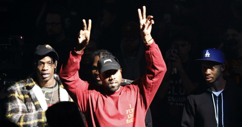 Kanye West at 'The Life of Pablo' release | © Bruce Barton/AP/REX/Shutterstock